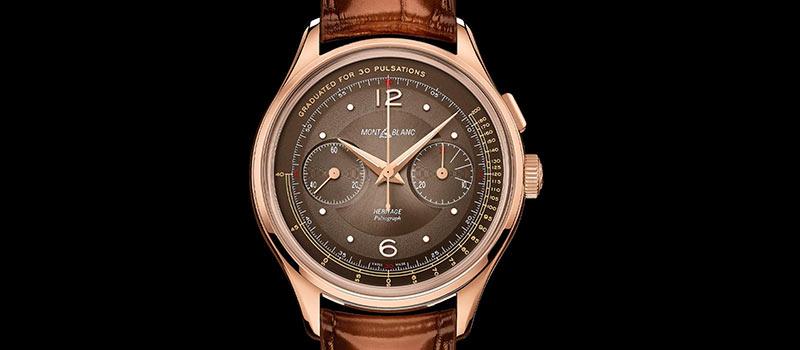 Montblanc представляет наручные часы Heritage Manufacture Pulsograph