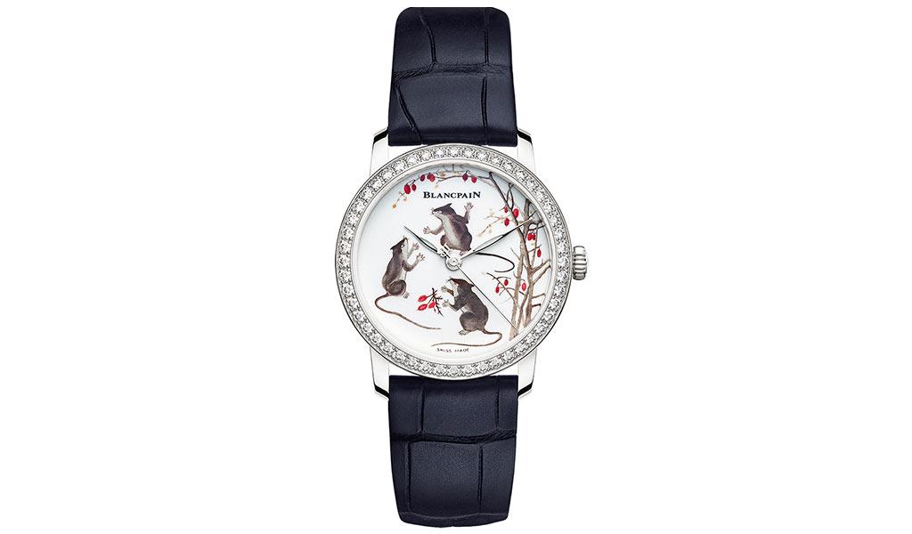 Наручные часы Blancpain Metiers d'Art Porcelaine