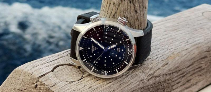 Новая модель наручных дайверских часов Marnaut Seascape 200