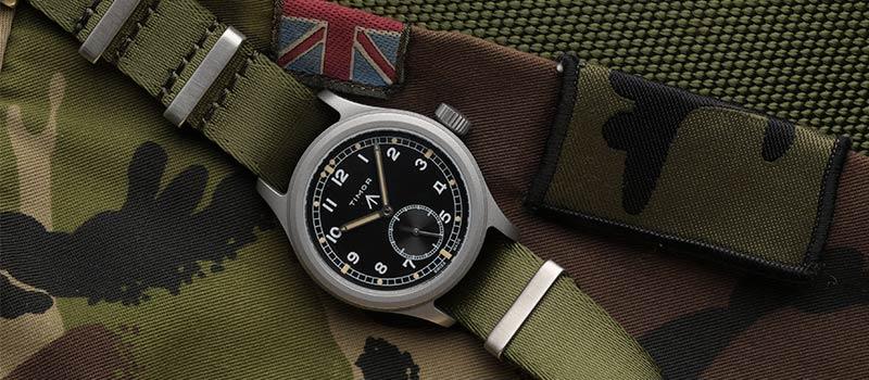 Timor представляет Heritage Field, ремейк военных наручных часов WWW