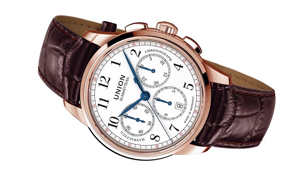 Немецкие часы Union Glashutte