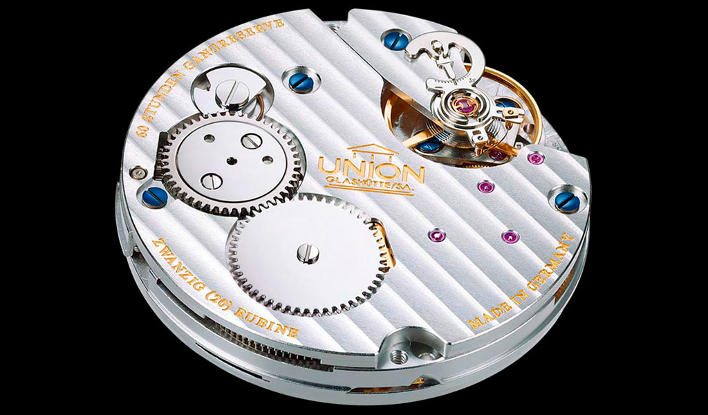 Часовой механизм Union Glashütte
