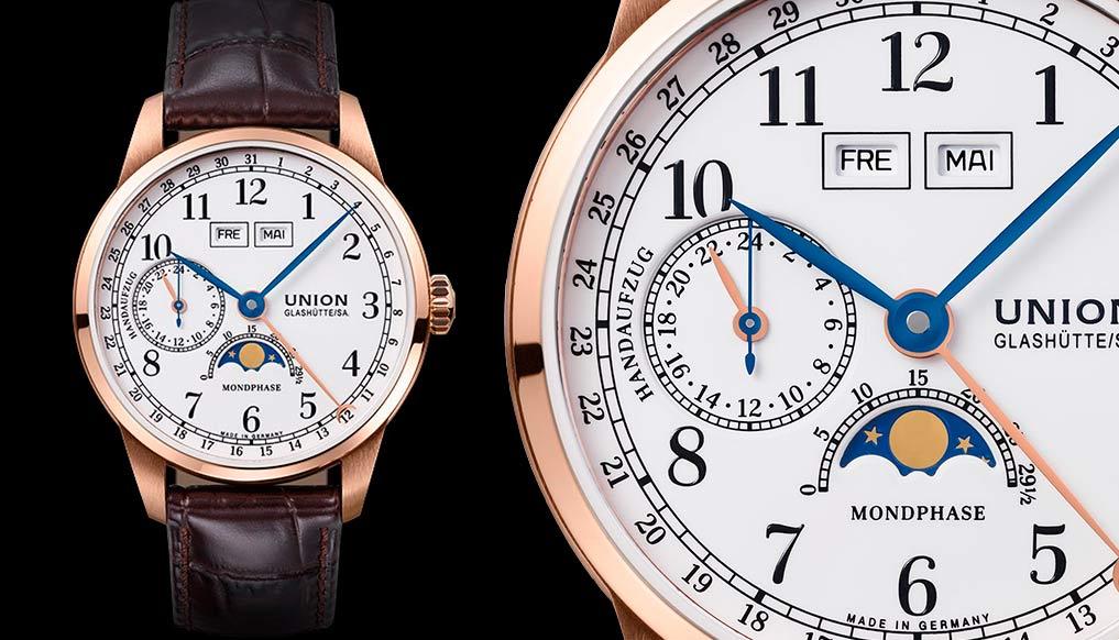 Часы с усложнениями Union Glashütte