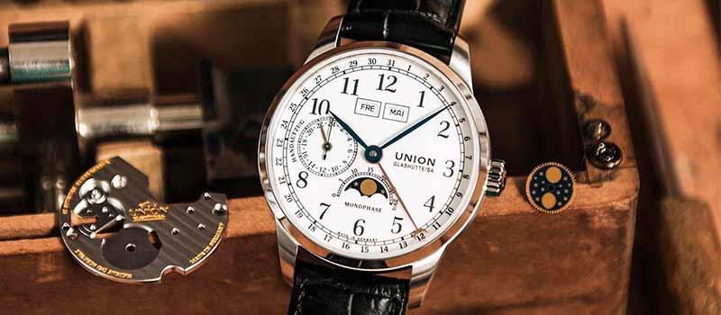 Новая модель часов с усложнениями Union Glashütte