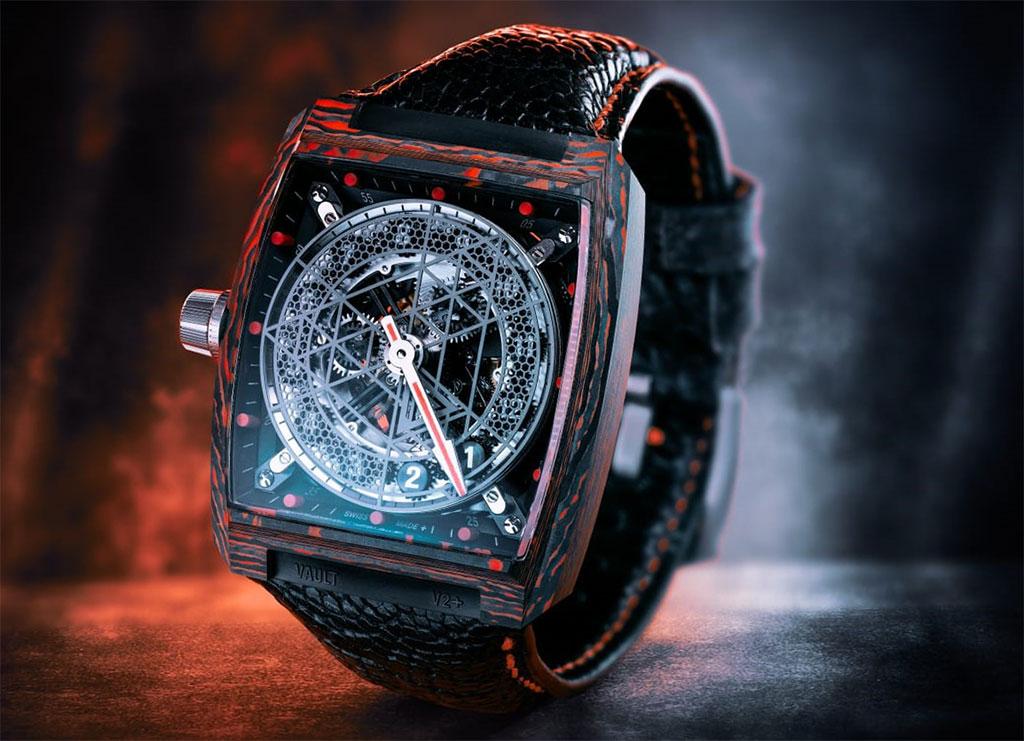 часы Vault V2+ RED CC