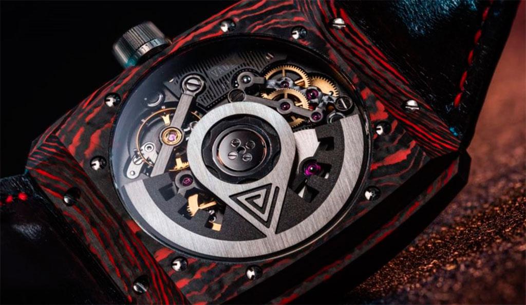 часовой механизм Vault V2+ RED CC