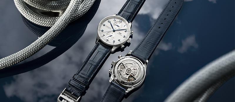Новая линия часов Portugieser Chronograph с мануфактурным механизмом от IWC Schaffhausen