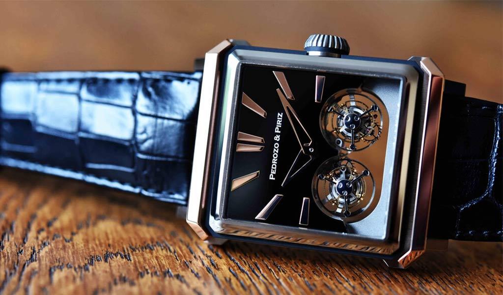 Часы с двойным турбийоном Pedrozo&Piriz PP01