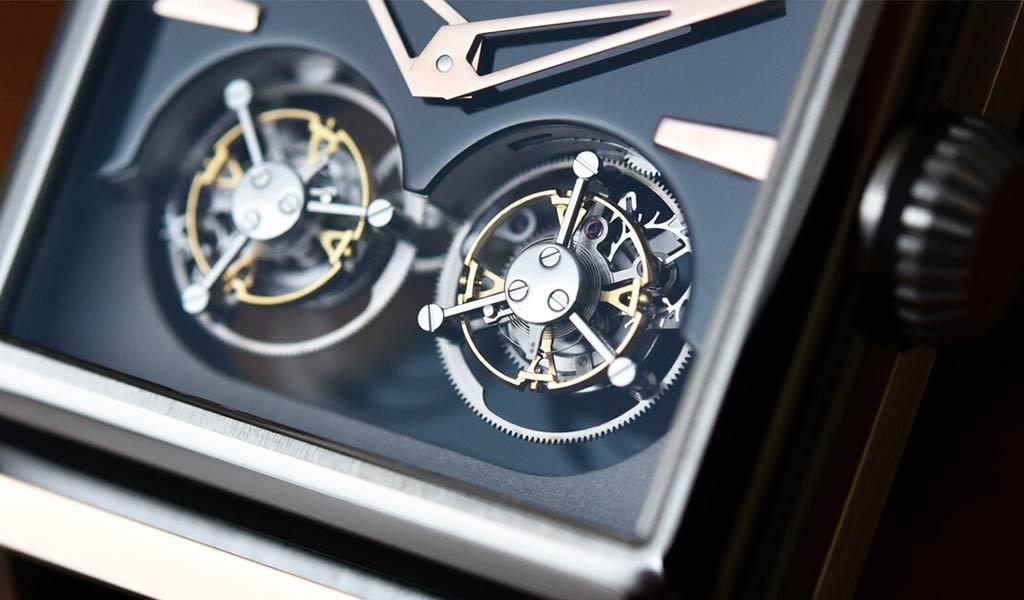 Часы с двойным парящим турбийоном Pedrozo&Piriz PP01