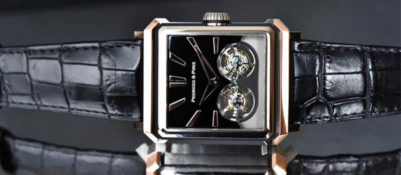 Наручные часы с двойным турбийоном Pedrozo&Piriz PP01
