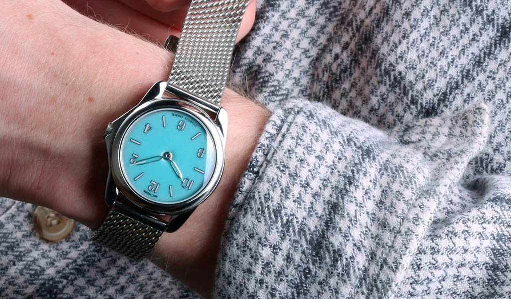 Шотландские наручные часы anOrdain Model 2