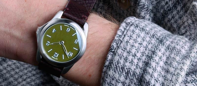 Новые наручные часы Model 2 от шотландского часового бренда anOrdain