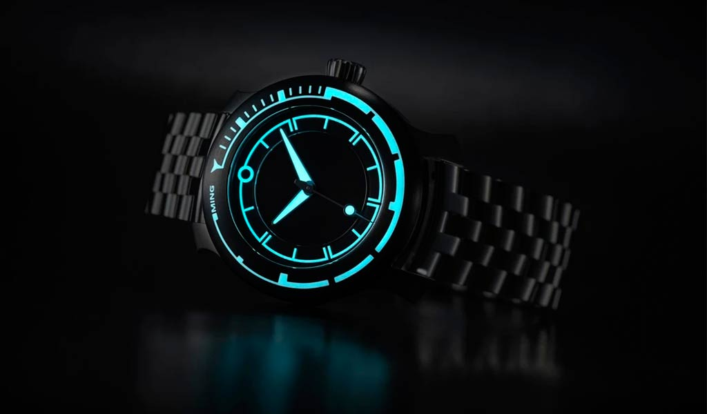 Дайверские часы Ming 18.01 H41