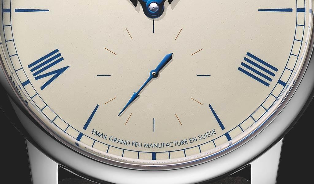 Часы с эмалевым циферблатом Louis Erard