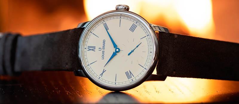 Механические часы с эмалевым циферблатом Excellence Email Grand Feu от Louis Erard