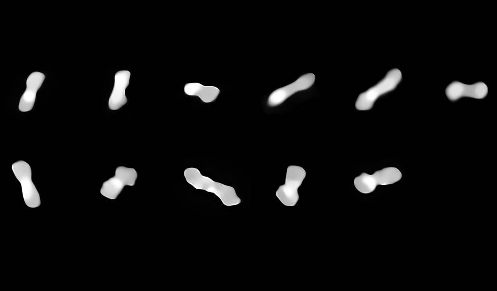 Изображение астероида