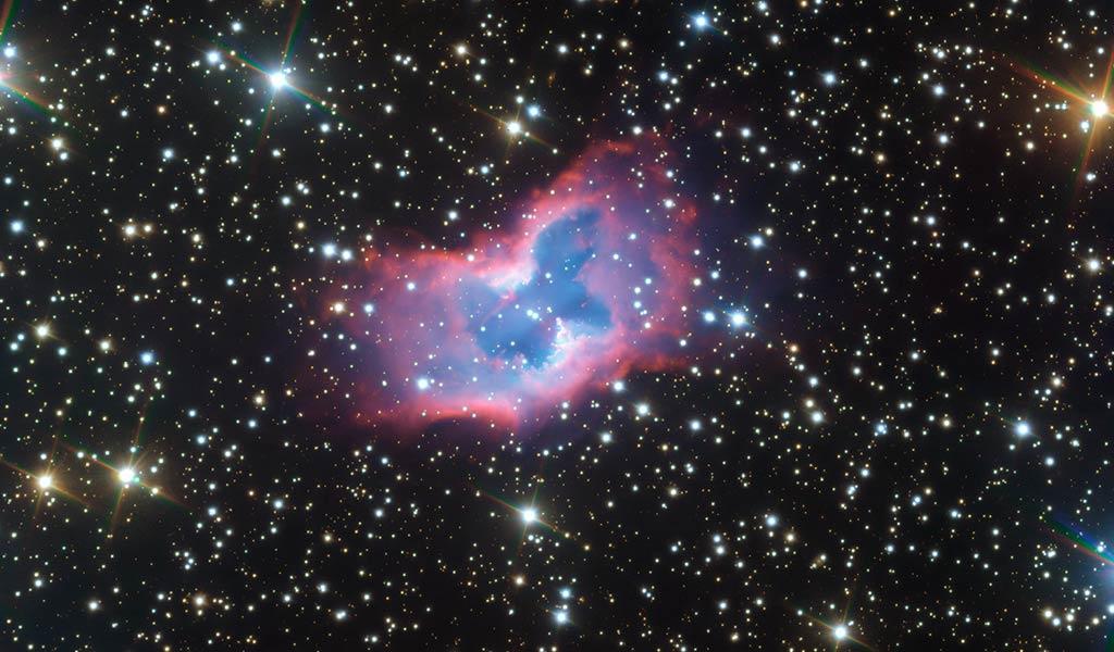 Планетарная туманность NGC 2899