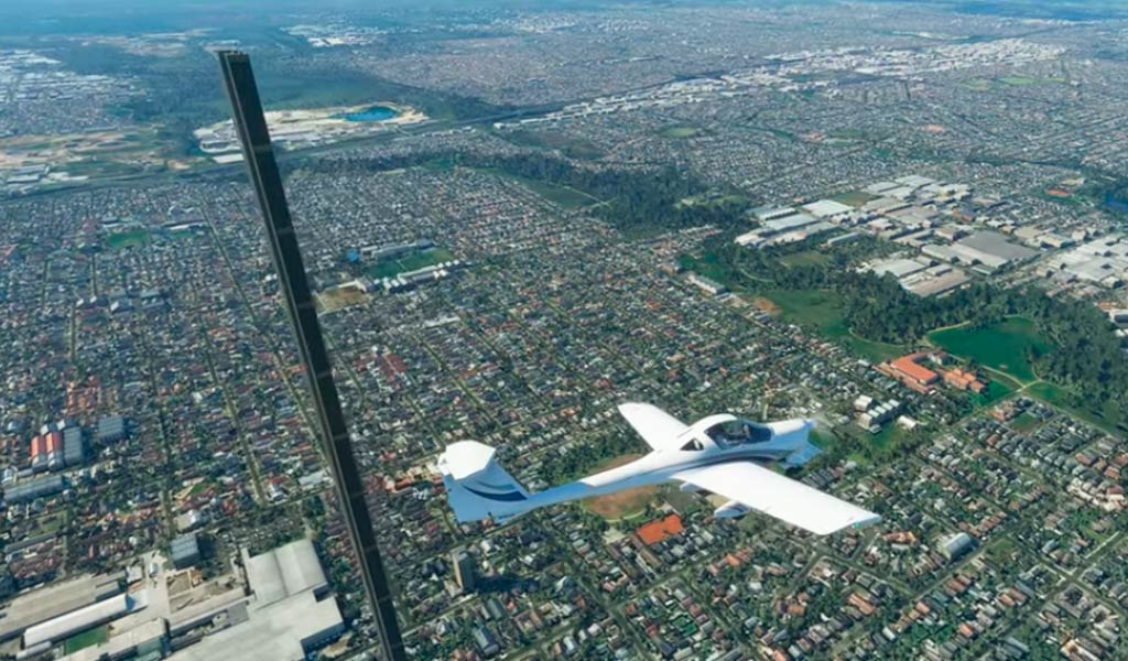 Симулятор полета Microsoft Flight Simulator