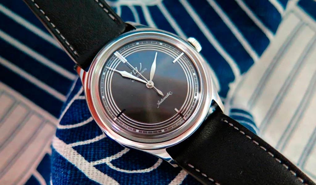 Японские наручные часы Kurono Bunkyō Tokyo