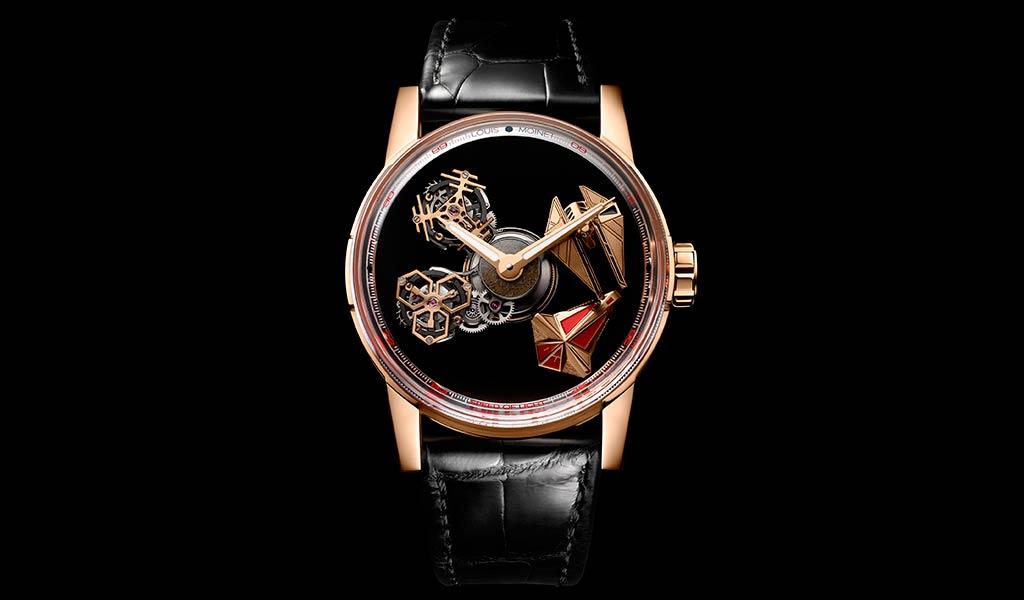 Наручные часы с турбийоном Space Revolution