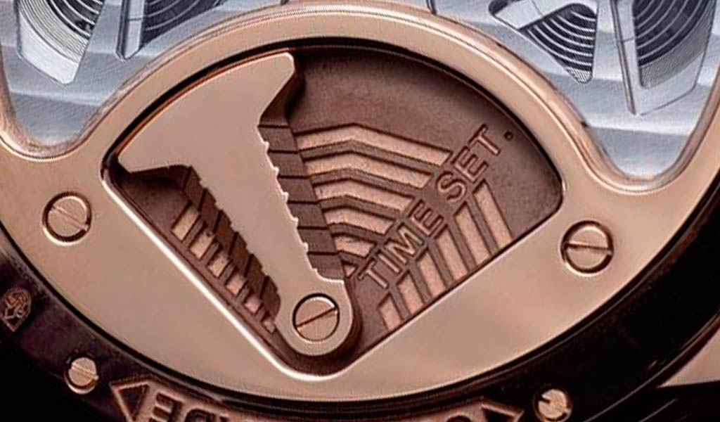 Наручные часы Луи Муане с двумя турбийонами
