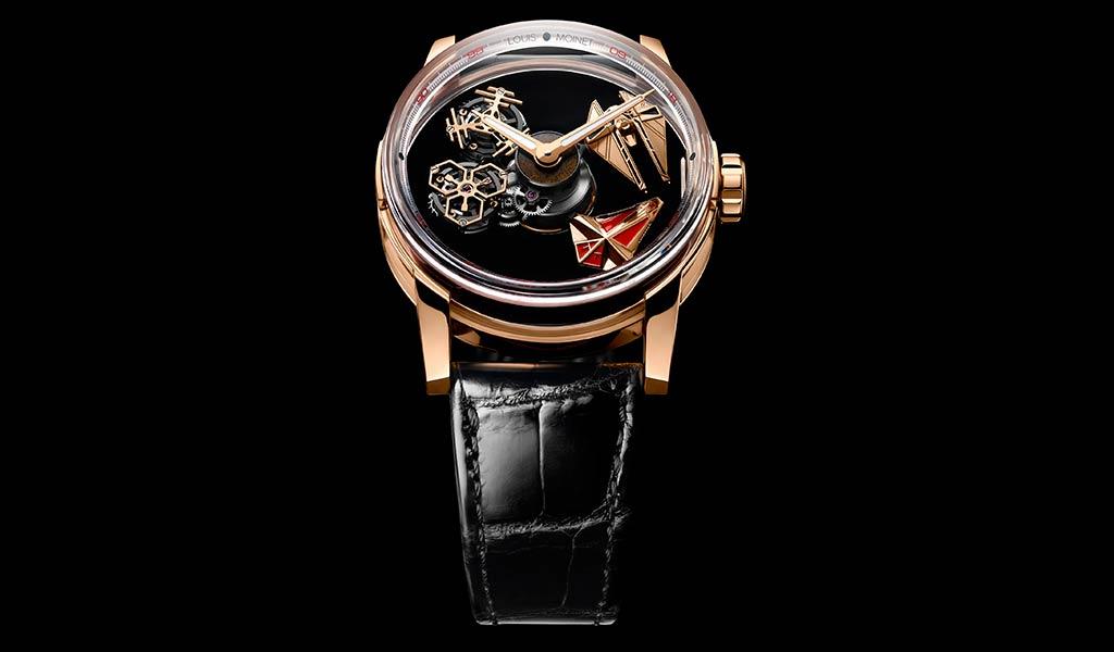Новые наручные часы Луи Муане