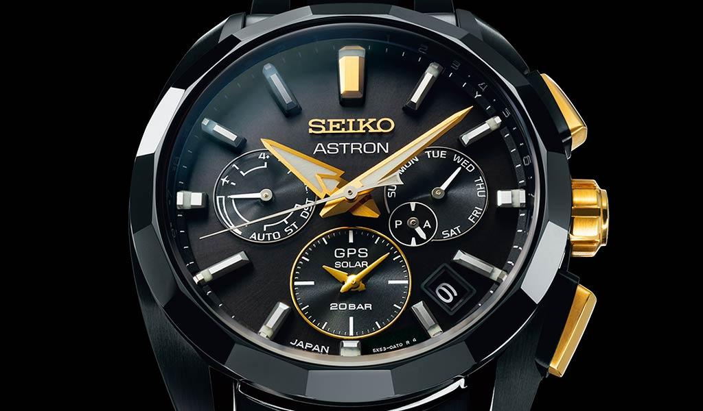 Часы наручные Seiko Astron GPS Solar Kintaro Hattori