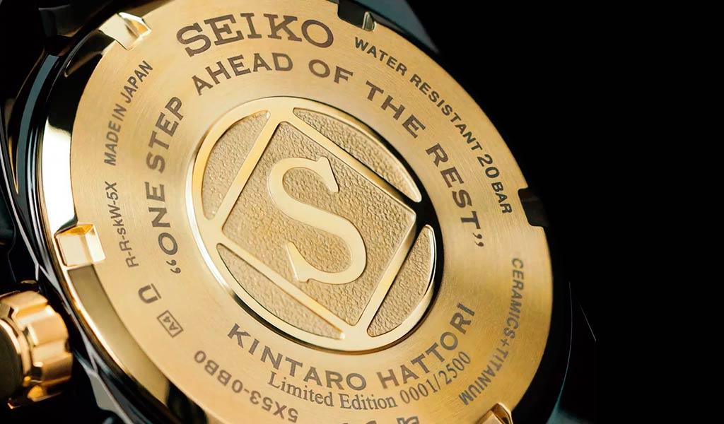 Новые часы Seiko Astron GPS Solar Kintaro Hattori