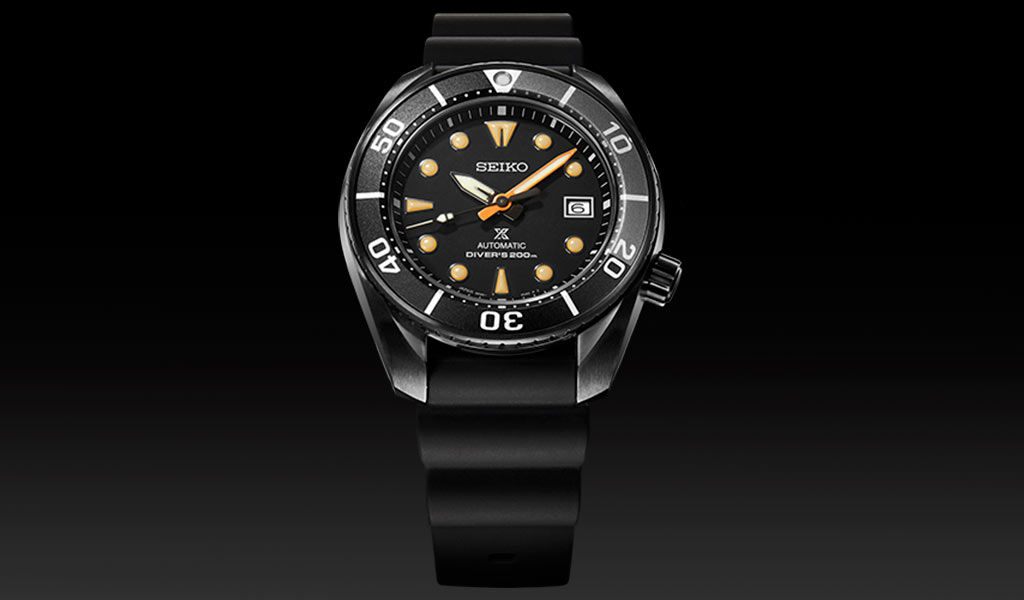 Часы для дайвинга Seiko Prospex Black Series «Sumo»