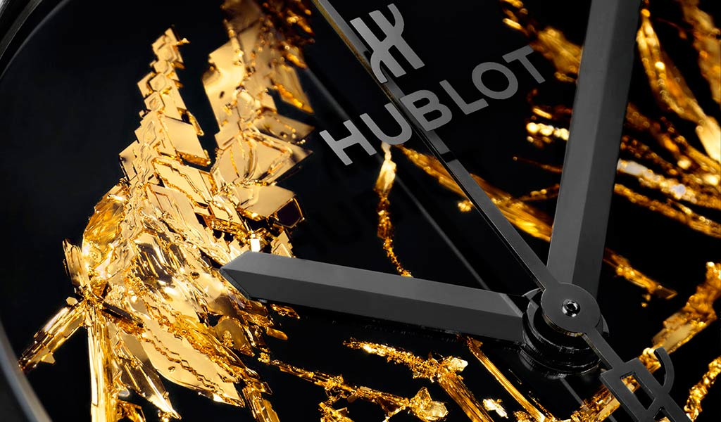 Часы Hublot Classic Fusion Gold Crystal