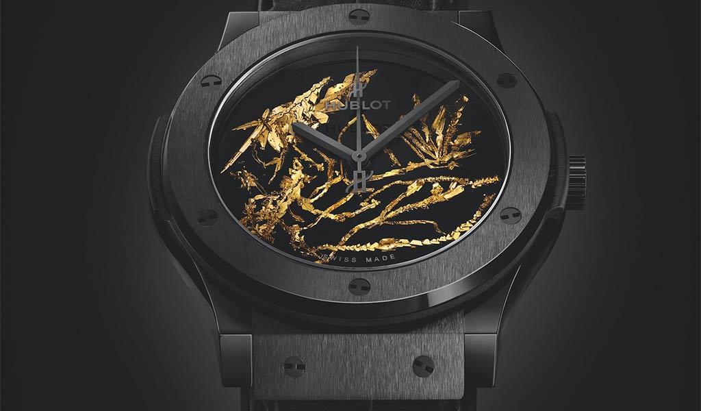 Часы наручные Hublot Classic Fusion Gold Crystal