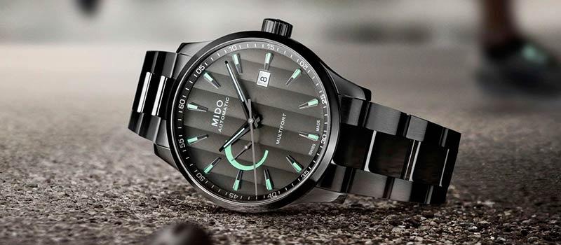 Наручные часы Multifort Power Reserve от швейцарского бренда Mido