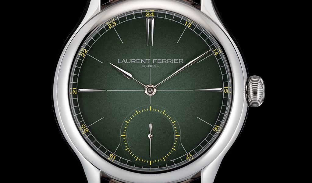 Новые механические часы Classic Origin Green