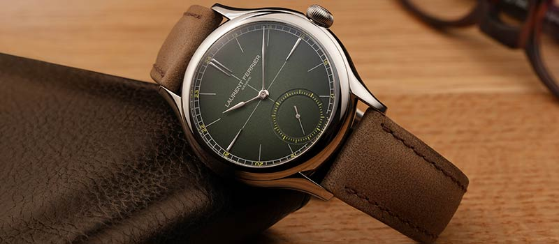 Механические наручные часы Laurent Ferrier Classic Origin Green, лимитированное издание