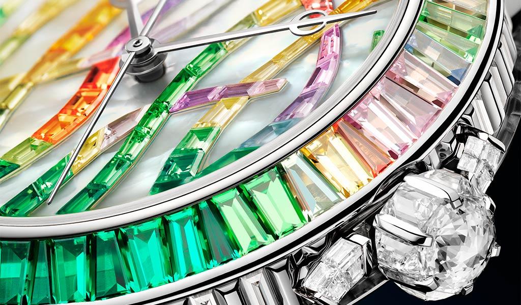Часы наручные Breguet Marine Haute Joaillerie 9509 Poseidonia