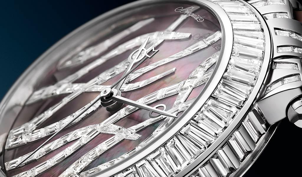 Часы Breguet Marine Haute Joaillerie 9509 Poseidonia