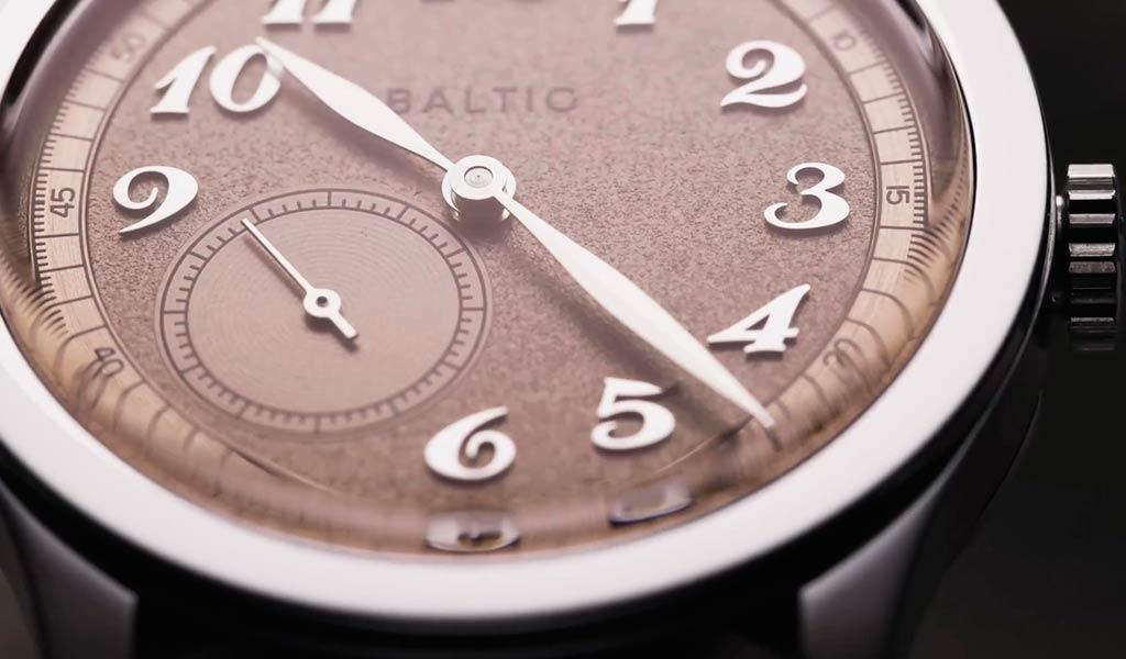 Французские наручные часы Baltic MR01