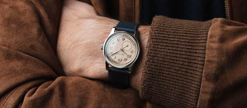 Французская компания Baltic представляет часы  MR01 с микроротором