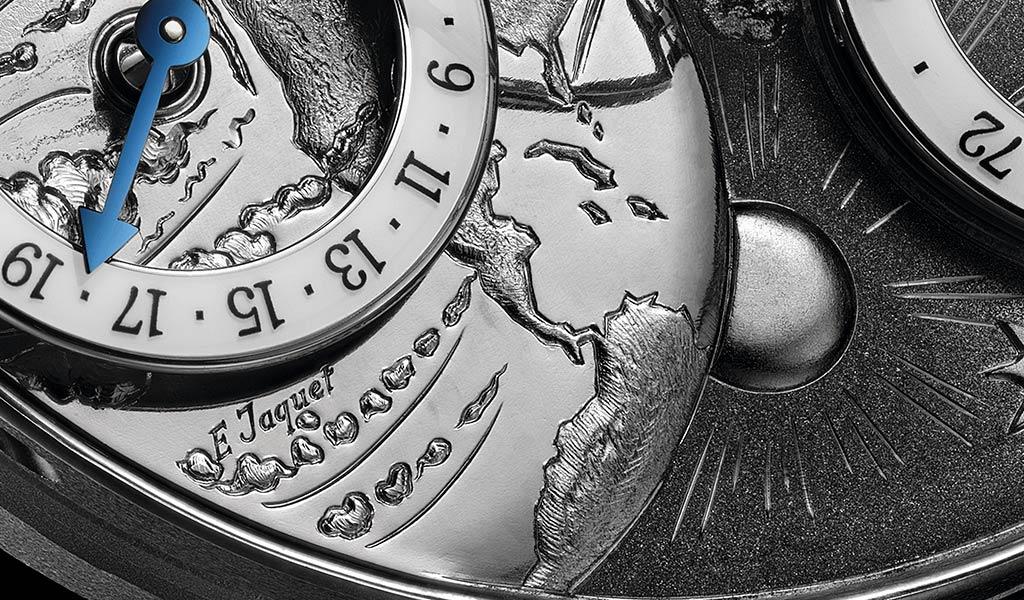 Циферблат новых часов MB&F