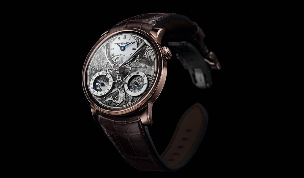 Швейцарские часы LM SPLIT ESCAPEMENT