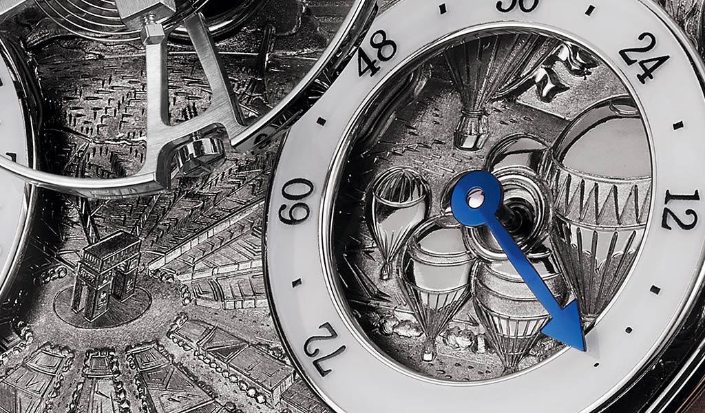 Циферблат наручных часов MB&F