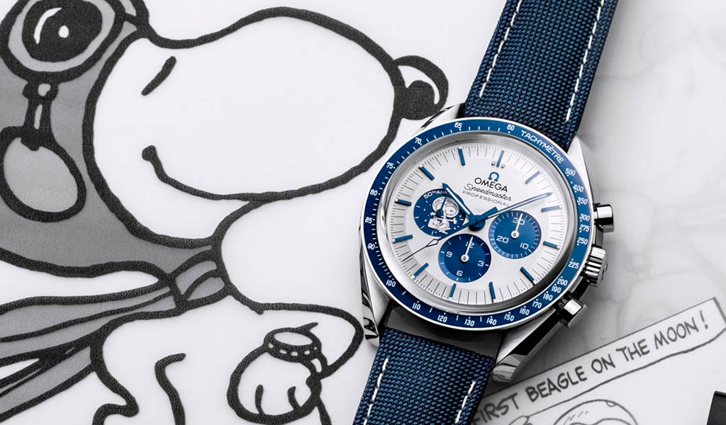 Новые часы OMEGA Speedmaster «Silver Snoopy Award»