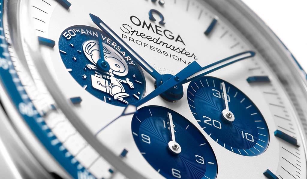 Новые наручные часы OMEGA Speedmaster «Silver Snoopy Award»
