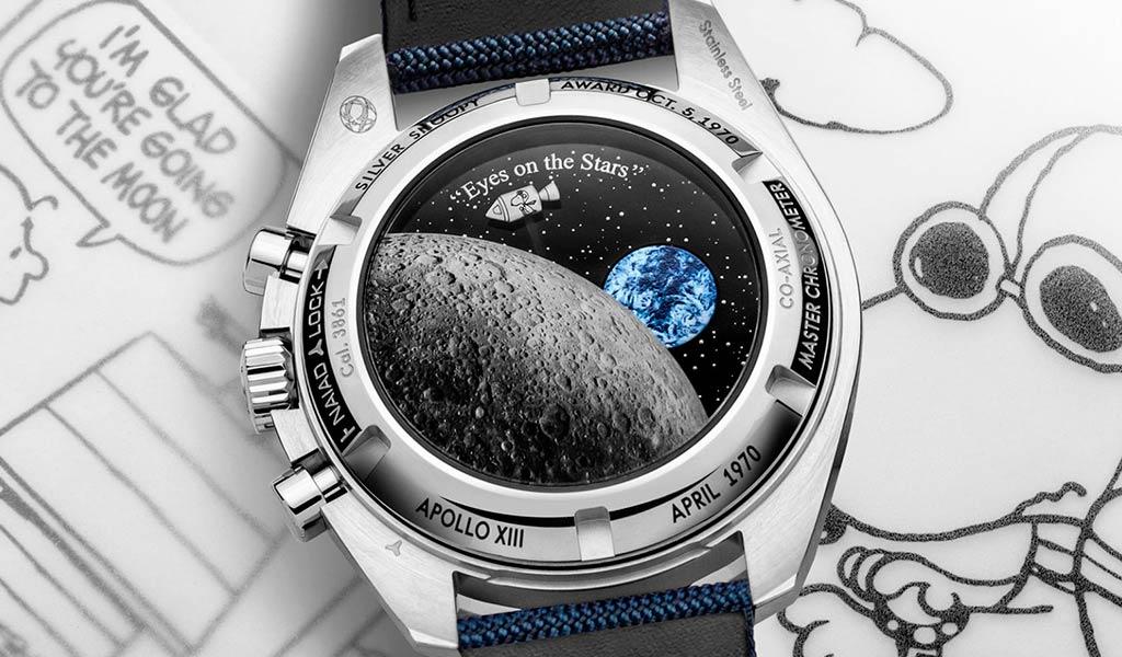 Часы наручные OMEGA Speedmaster «Silver Snoopy Award»
