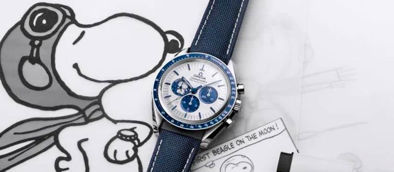 Специальная модель часов OMEGA Speedmaster «Silver Snoopy Award» в честь 50-ти летия