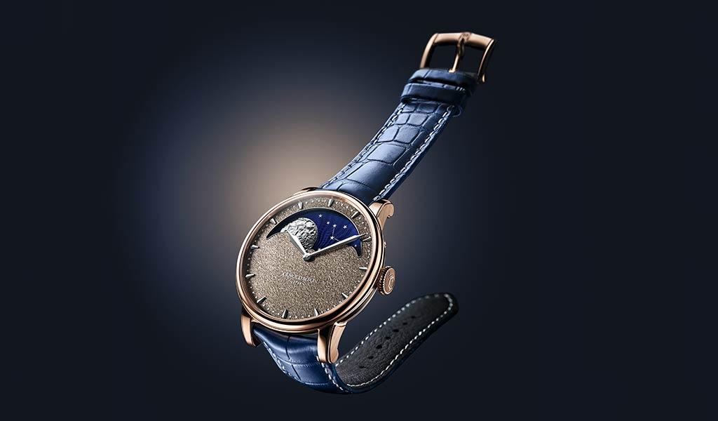 Механические часы Arnold & Son Perpetual Moon Obsidian