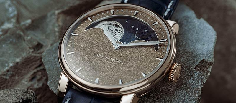 Наручные часы Perpetual Moon Obsidian от компании Arnold & Son
