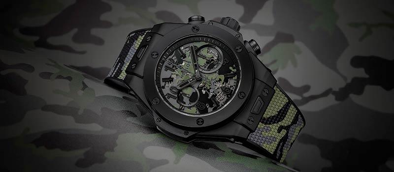 Новые наручные часы Big Bang от Hublot и японского дизайнера Едзи Ямамото