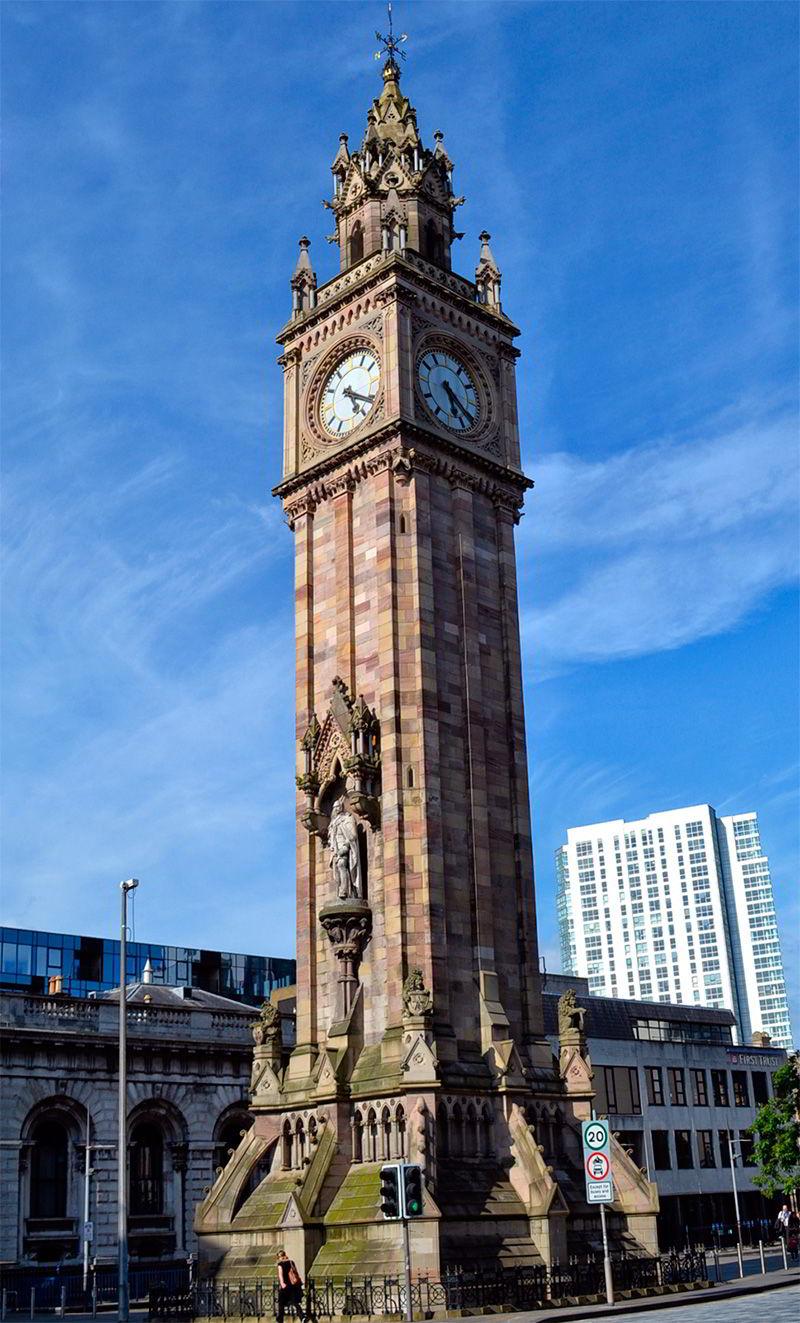 Часовая башня Альберта