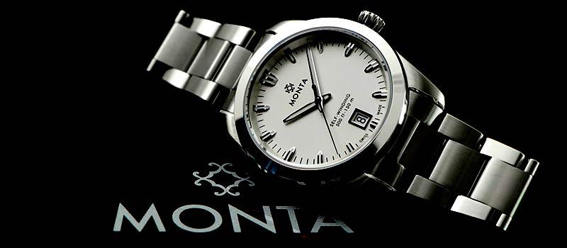 Компания Monta представляет новые наручные часы Noble